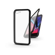 Haffner Apple iPhone 7 Plus/iPhone 8 Plus mágneses, 2 részes hátlap előlapi üveggel - Magneto 360 - fekete tok és táska