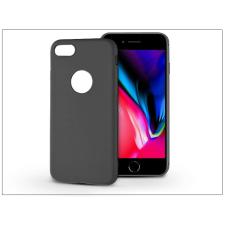Haffner Apple iPhone 8 szilikon hátlap - Soft - fekete tok és táska