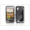 Haffner HTC Desire VT szilikon hátlap - S-Line - fekete