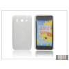 Haffner Huawei Ascend G510 szilikon hátlap - S-Line - fehér