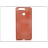 Haffner Huawei P9 szilikon hátlap - Jelly Brush - piros