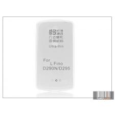 Haffner LG D290N L Fino szilikon hátlap - Ultra Slim 0,3 mm - transparent tok és táska