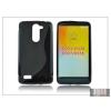 Haffner LG D331/D335 L Bello szilikon hátlap - S-Line - fekete