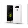 Haffner LG G5 H850 szilikon hátlap - Jelly Bright 0,3 mm - fehér