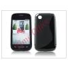 Haffner LG L40 D160 szilikon hátlap - S-Line - fekete