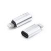 Haffner Lightning - USB Type-C adapter - ezüst