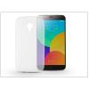 Haffner Meizu MX4 szilikon hátlap - Ultra Slim 0,3 mm - transparent