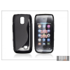 Haffner Nokia Asha 308/309 szilikon hátlap - S-Line