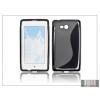 Haffner Nokia Lumia 720 szilikon hátlap - S-Line - fekete
