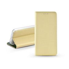Haffner S-Book Flip bőrtok - Apple iPhone 11 - arany tok és táska
