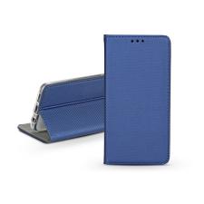 Haffner S-Book Flip bőrtok - Apple iPhone 11 - kék tok és táska