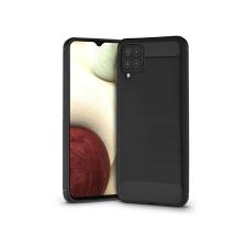 Haffner Samsung A125F Galaxy A12 szilikon hátlap - Carbon - fekete tok és táska