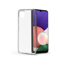 Haffner Samsung A226B Galaxy A22 5G szilikon hátlap - Soft Clear - transparent tok és táska