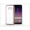 Haffner Samsung G955F Galaxy S8 Plus szilikon hátlap - Jelly Electro - rose gold