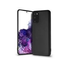 Haffner Samsung G980F Galaxy S20 szilikon hátlap - Soft Premium - fekete tok és táska