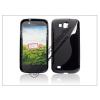 Haffner Samsung i9260 Galaxy Premier szilikon hátlap - fekete - S-Line