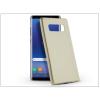Haffner Samsung N950F Galaxy Note 8 szilikon hátlap - Jelly Flash Mat - gold