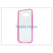Haffner Samsung SM-G920 Galaxy S6 szilikon hátlap - Slim HC 0,3 mm - pink tok és táska