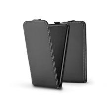 Haffner Slim Flexi Flip bőrtok - Apple iPhone 12 Mini - fekete tok és táska