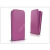 Haffner Slim Flexi Flip bőrtok - Apple iPhone 7/iPhone 8 - lila