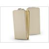 Haffner Slim Flexi Flip bőrtok - Huawei P10 Lite - gold