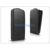 Haffner Slim Flexi Flip bőrtok - LG E430 Optimus L3 II - fekete