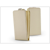 Haffner Slim Flexi Flip bőrtok - Samsung G955F Galaxy S8 Plus - gold