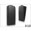 Haffner Slim Flexi Flip bőrtok - Samsung i8260 Galaxy Core - fekete