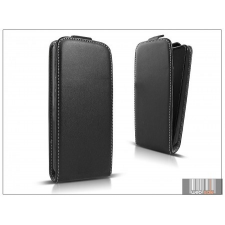 Haffner Slim Flexi Flip bőrtok - Samsung SM-A700F Galaxy A7 - fekete tok és táska