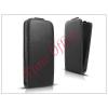 Haffner Slim Flexi Flip bőrtok - Samsung SM-G920 Galaxy S6 - fekete