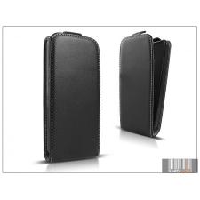 Haffner Slim Flexi Flip bőrtok - Sony Xperia T3 (D5103) - fekete tok és táska