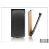 Haffner Slim Flip bőrtok - Samsung i9260 Galaxy Premier - fekete