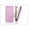 Haffner Slim Flip bőrtok - Samsung SM-G900 Galaxy S5 - lila