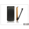 Haffner Slim Flip bőrtok - Sony Xperia C3 (D2533) - fekete