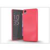 Haffner Sony Xperia X szilikon hátlap - Jelly Bright 0,3 mm - pink