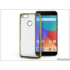 Haffner Xiaomi Mi A1 szilikon hátlap - Jelly Electro - gold tablet tok