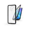 Haffner Xiaomi Redmi 9 mágneses, 2 részes hátlap előlapi üveggel - Magneto 360 - fekete