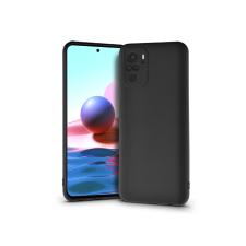 Haffner Xiaomi Redmi Note 10/Note 10S szilikon hátlap - Soft - fekete tok és táska