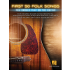 HAL LEONARD First 50 Folk Songs You Should Play on Guitar