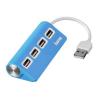 Hama 12179 USB 2.0 HUB 1:4, kék