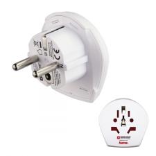 Hama 128210 UTAZÓADAPTER WORLD-EU audió/videó kellék, kábel és adapter