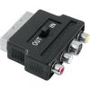 Hama 42357 AV SCART-3RCA-SVHS be/ki adapter