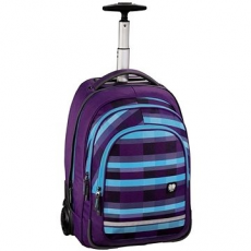 Hama Trolley All Out Summer Check Lila