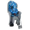 Hamax Kiss Gyerekülés kerékpár vázra + Sisak #kék-szürke