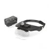 Handy Tools Handy fejpántos nagyító led világítással (10794), dupla lencsével