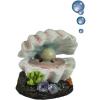 Happet kagyló gyönggyel – Levegőporlasztós akvárium dekoráció