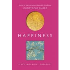 Happiness – Christophe André idegen nyelvű könyv