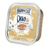 Happy Cat Duo pástétomos falatkák - Marha és nyúl 100 g