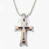 Három keresztes medál nyaklánccal jwr-1025