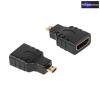 HDMI aljzat - micro HDMI dugó átalakító